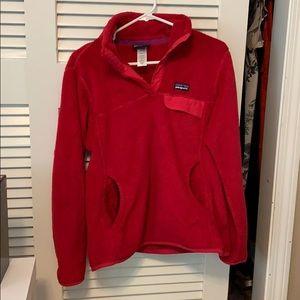 Patagonia 3/4 button sweatshirt